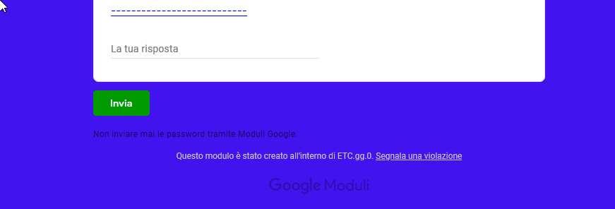 nuovo attacco hacker google forms